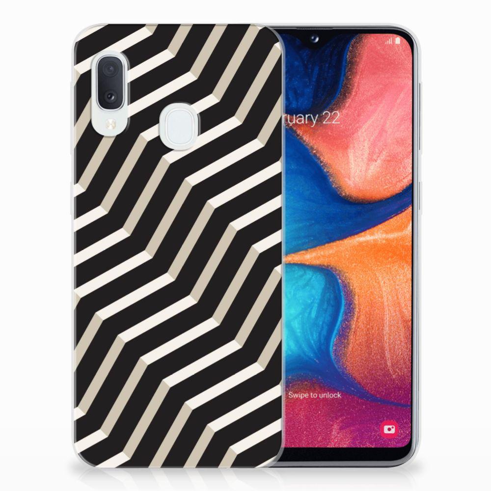 Samsung Galaxy A20e TPU Hoesje Illusion