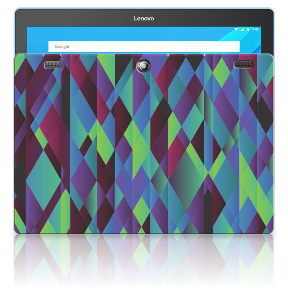 Lenovo Tab 10 | Tab 2 A10-30 Back Cover Abstract Green Blue