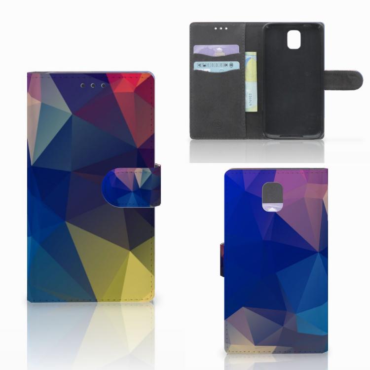 Samsung Galaxy Note 3 Bookcase Polygon Dark