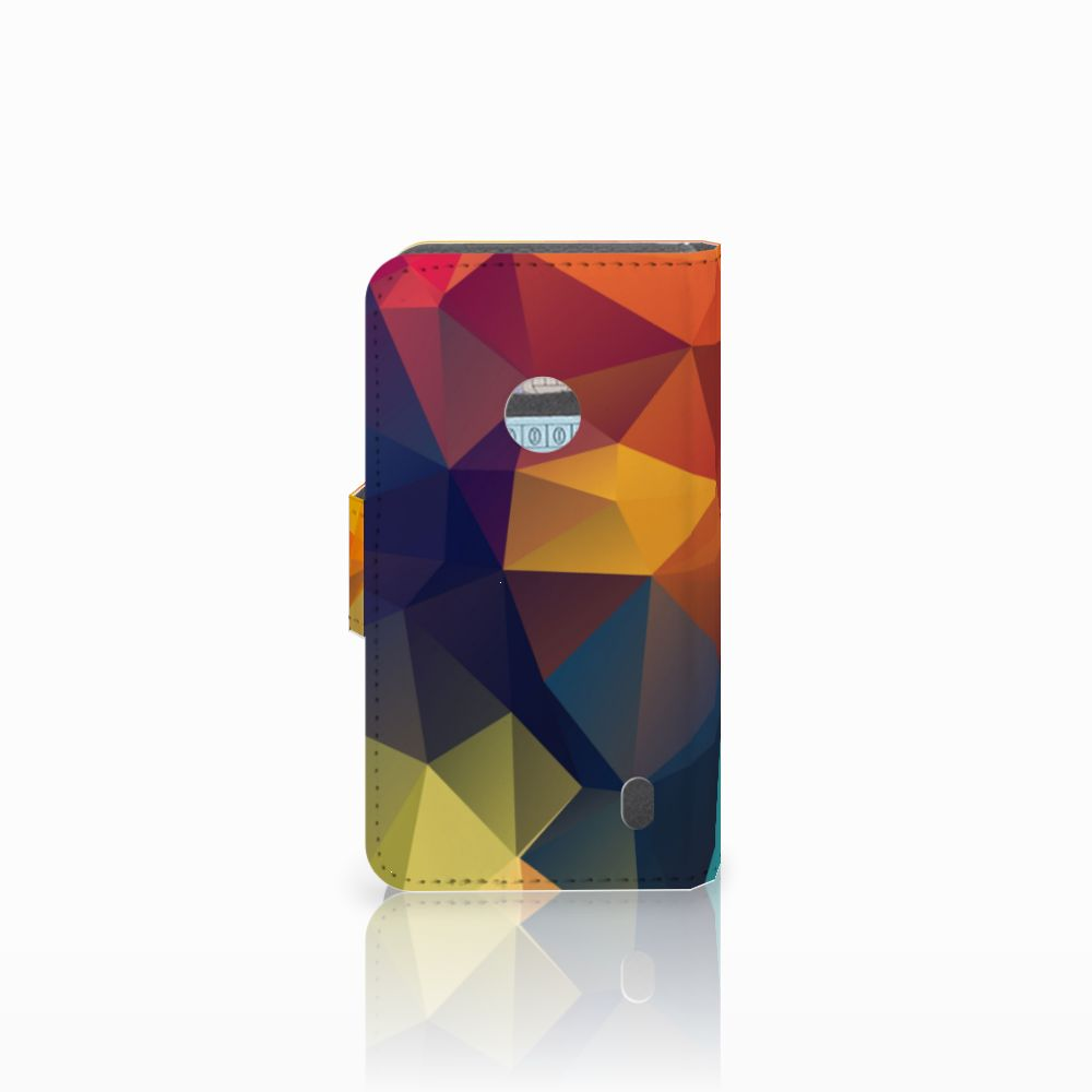 Nokia Lumia 520 Bookcase Polygon Color