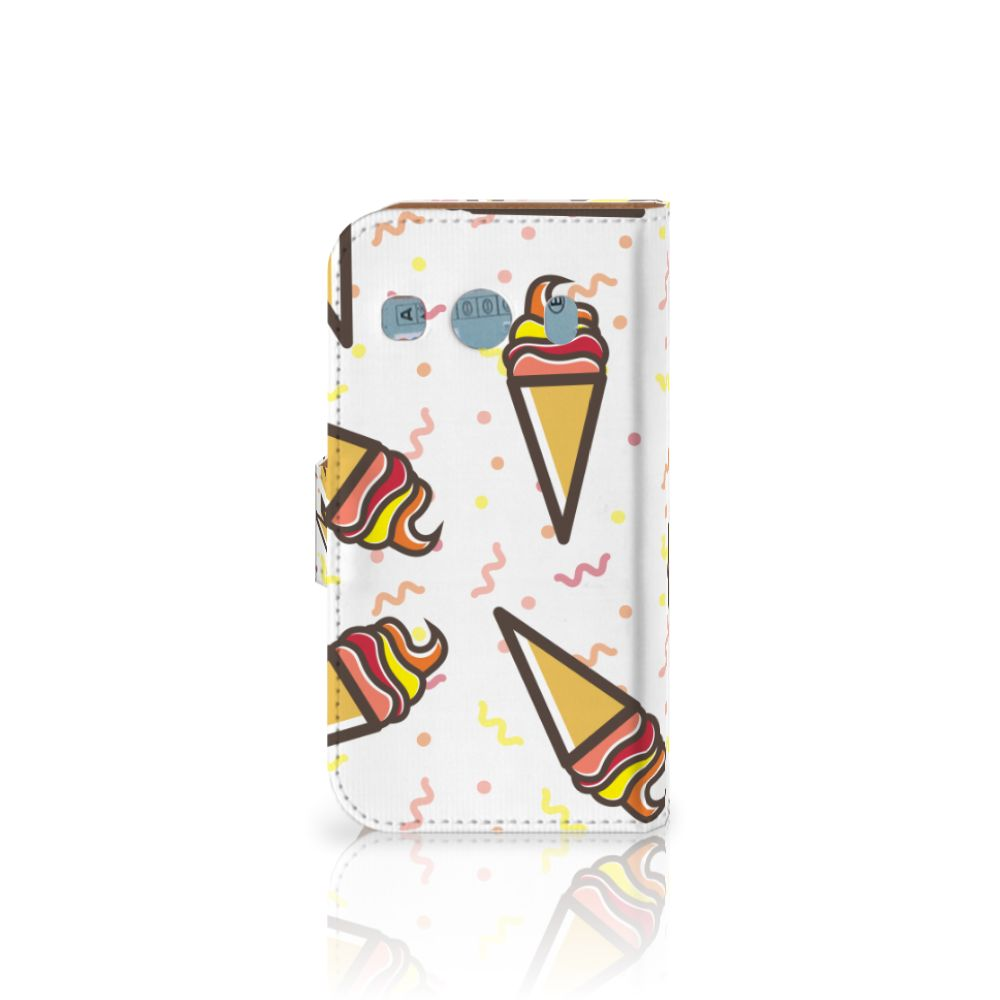 Samsung Galaxy Ace 4 4G (G357-FZ) Book Cover Icecream