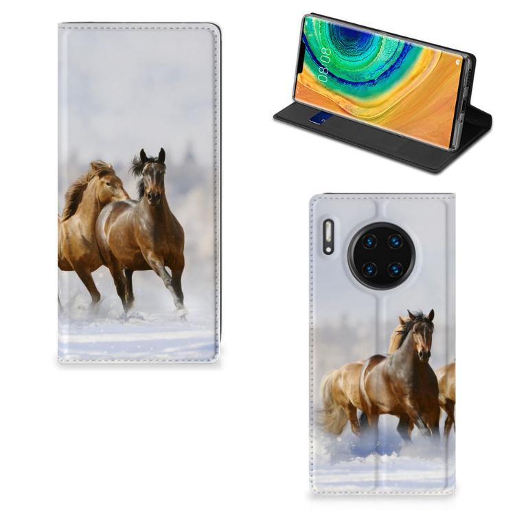 Huawei Mate 30 Pro Hoesje maken Paarden