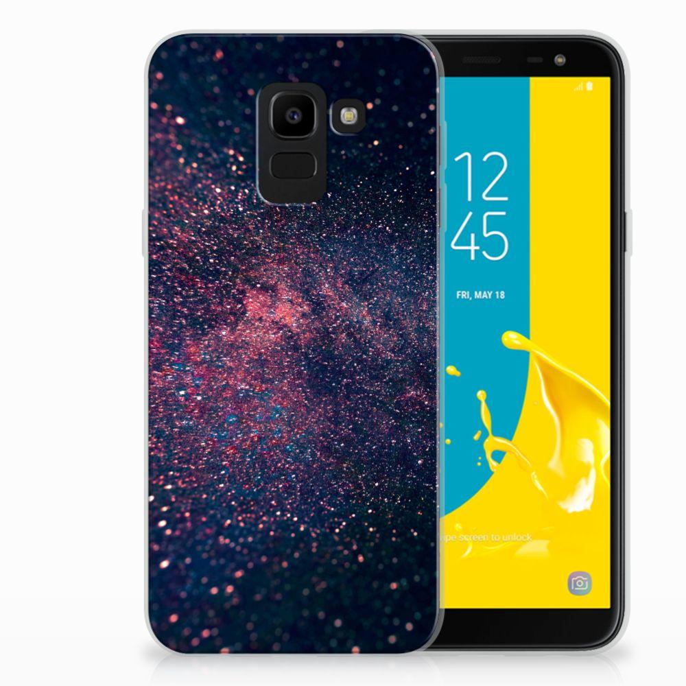 Samsung Galaxy J6 2018 TPU Hoesje Stars