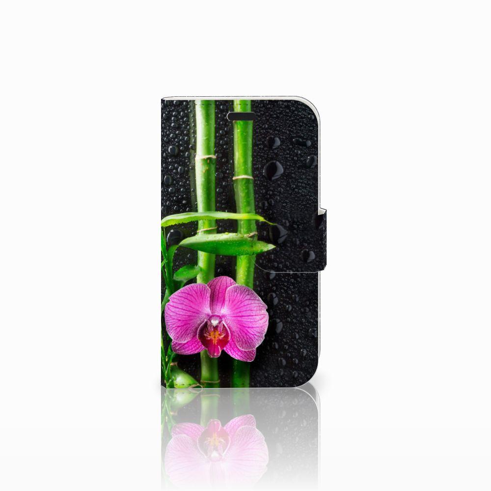 LG L Fino Boekhoesje Design Orchidee