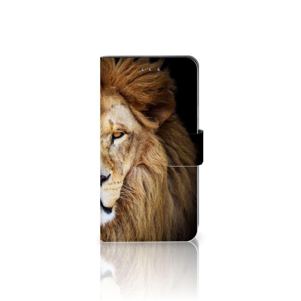 Samsung Galaxy J4 2018 Boekhoesje Design Leeuw