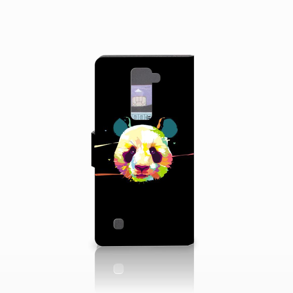 LG K10 2015 Leuke Hoesje Panda Color
