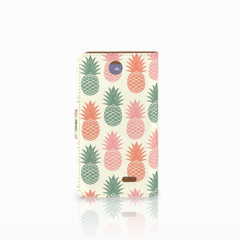 HTC Desire 310 Book Cover Ananas