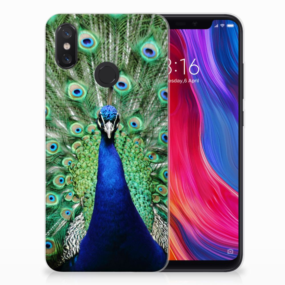 Xiaomi Mi 8 TPU Hoesje Design Pauw