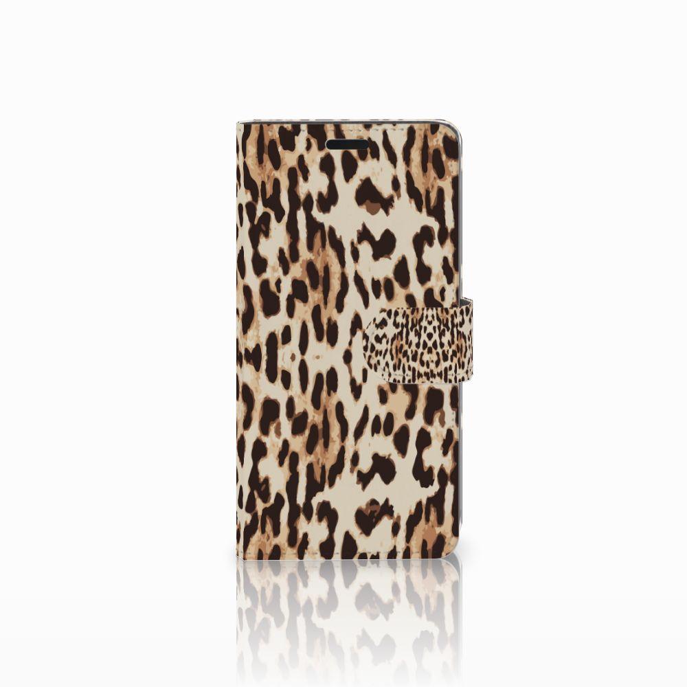 HTC Desire 530 Uniek Boekhoesje Leopard
