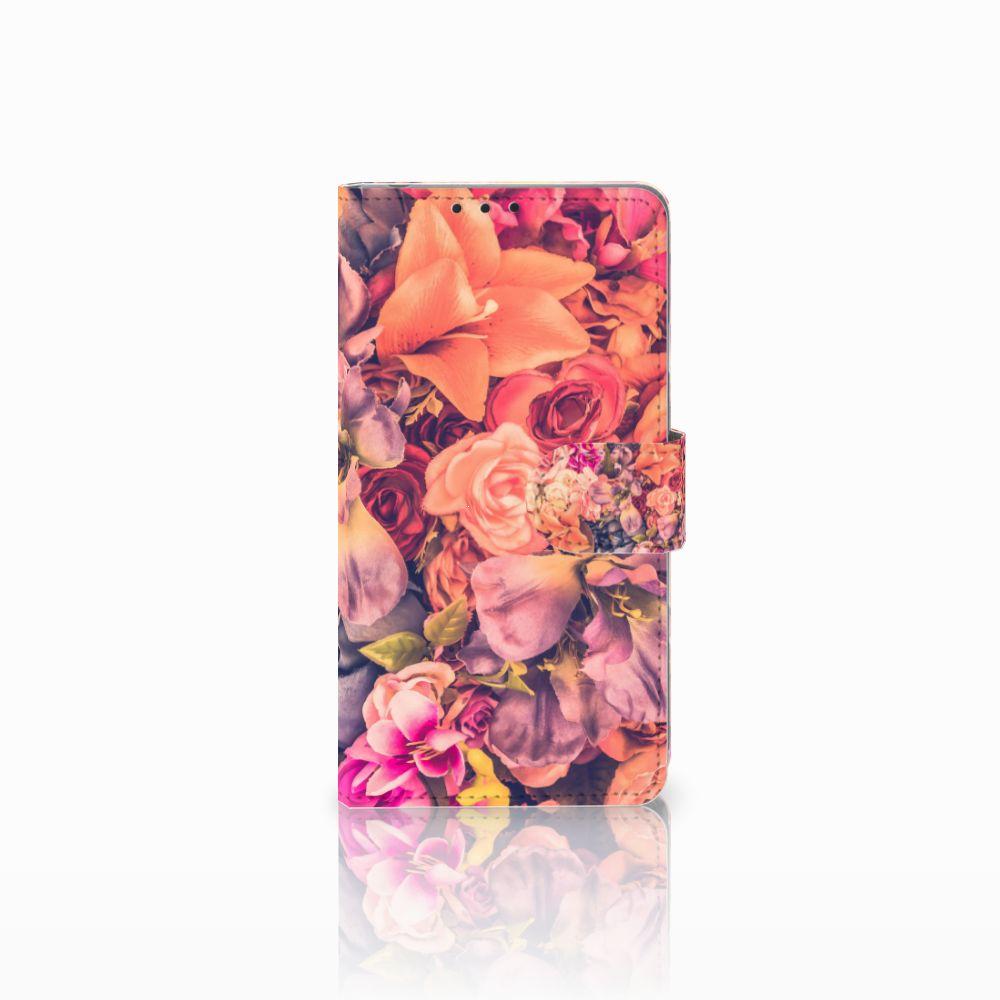 Sony Xperia Z1 Boekhoesje Design Bosje Bloemen