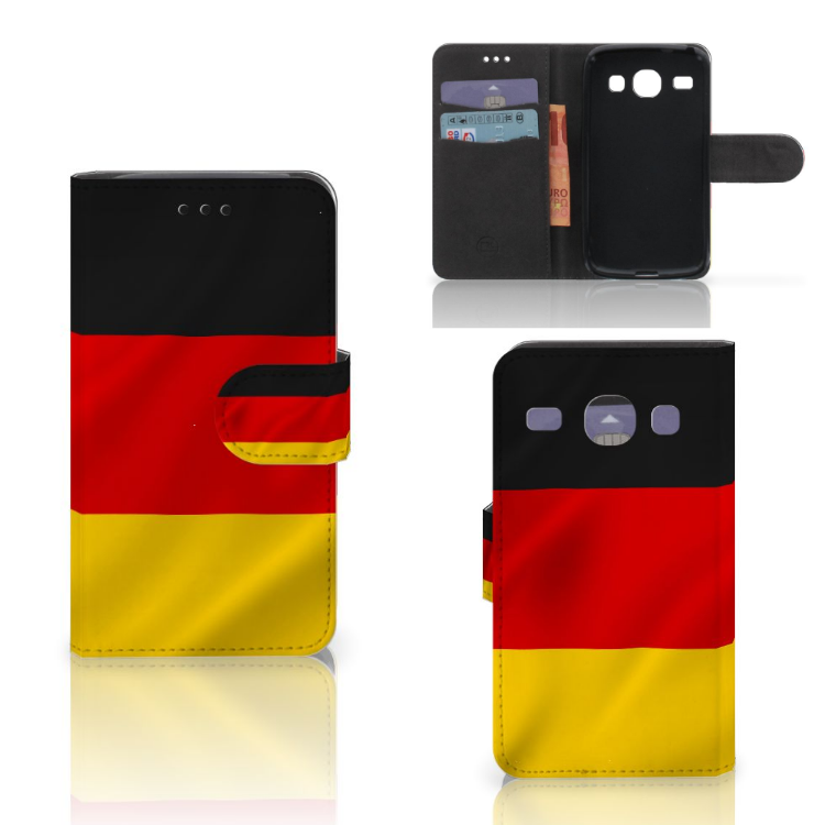Samsung Galaxy Core i8260 Bookstyle Case Duitsland
