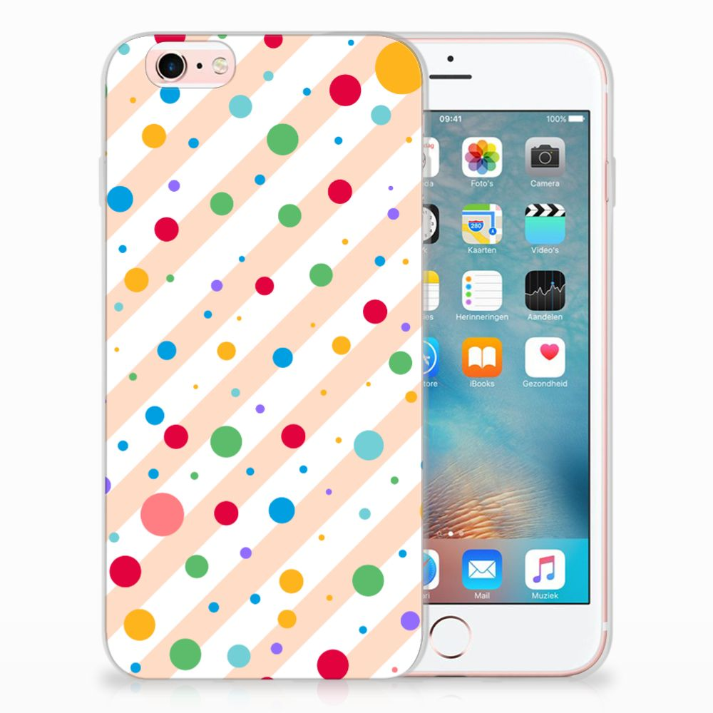 Apple iPhone 6 | 6s TPU Hoesje Design Dots
