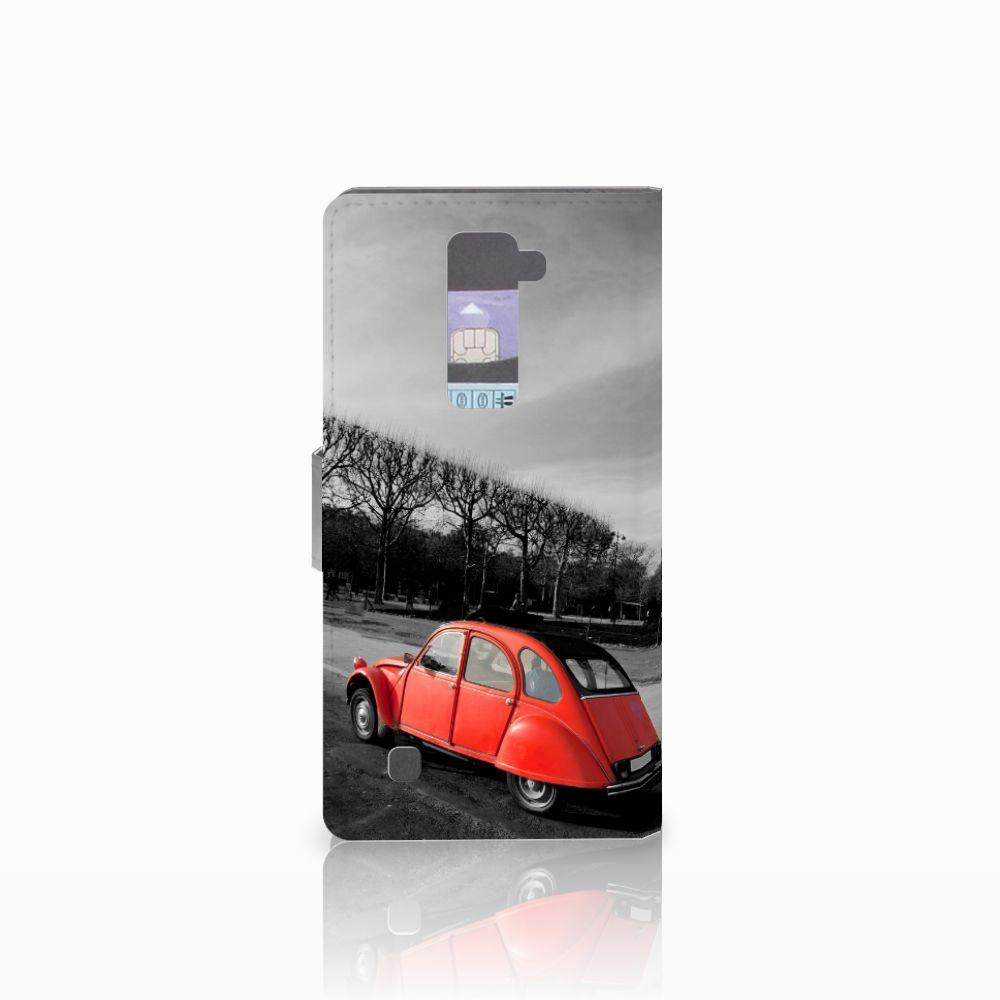 LG K10 2015 Flip Cover Eiffeltoren