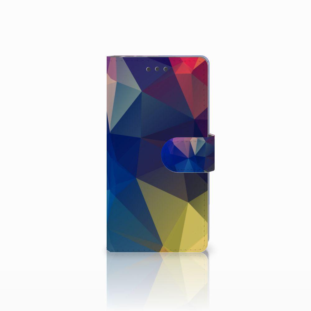 Sony Xperia E5 Bookcase Polygon Dark