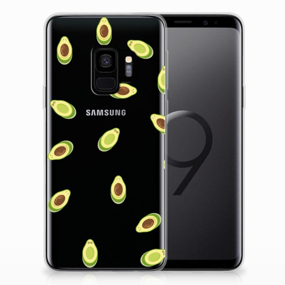 Samsung Galaxy S9 Siliconen Case Avocado
