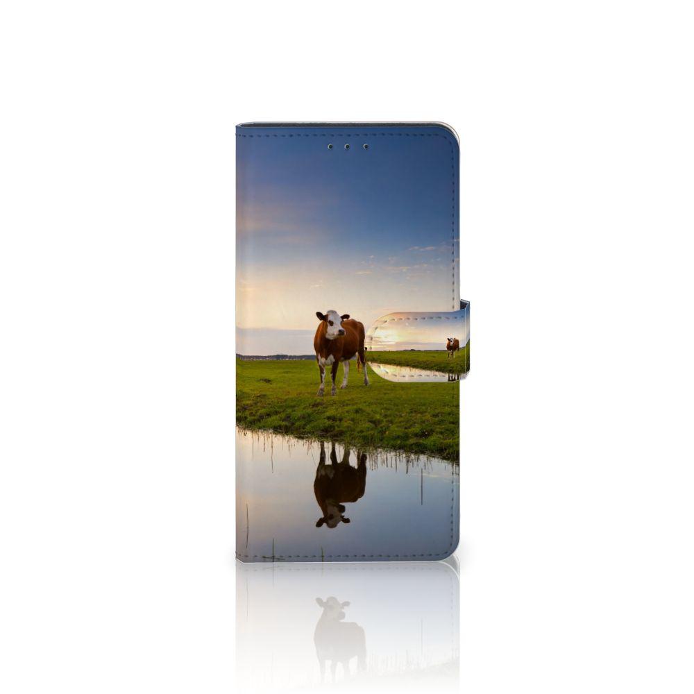 Motorola Moto Z Play Boekhoesje Design Koe