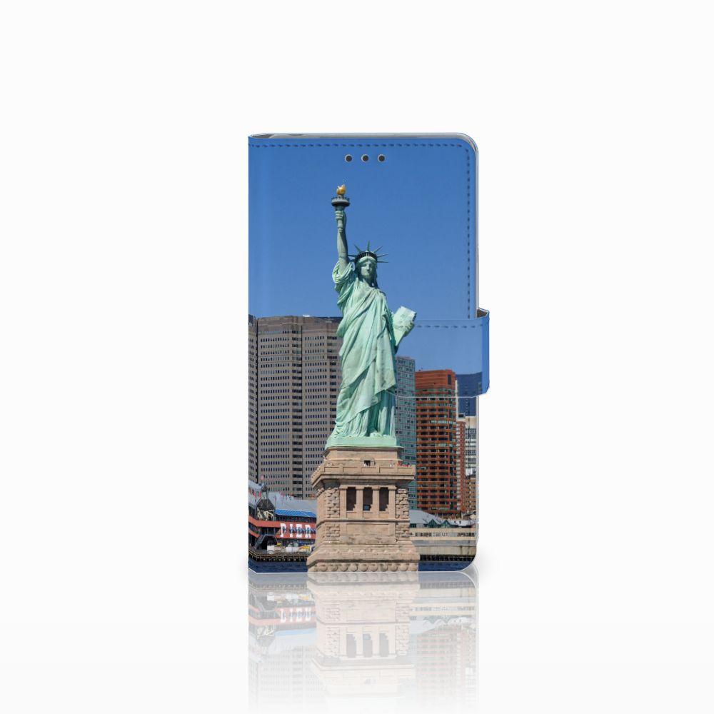 Sony Xperia Z Uniek Boekhoesje Vrijheidsbeeld