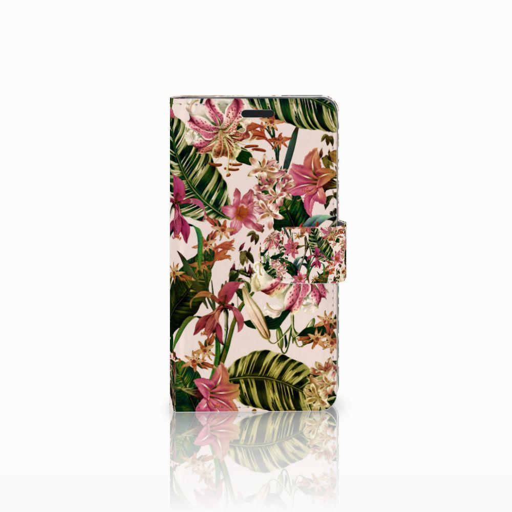 LG G3 Uniek Boekhoesje Flowers