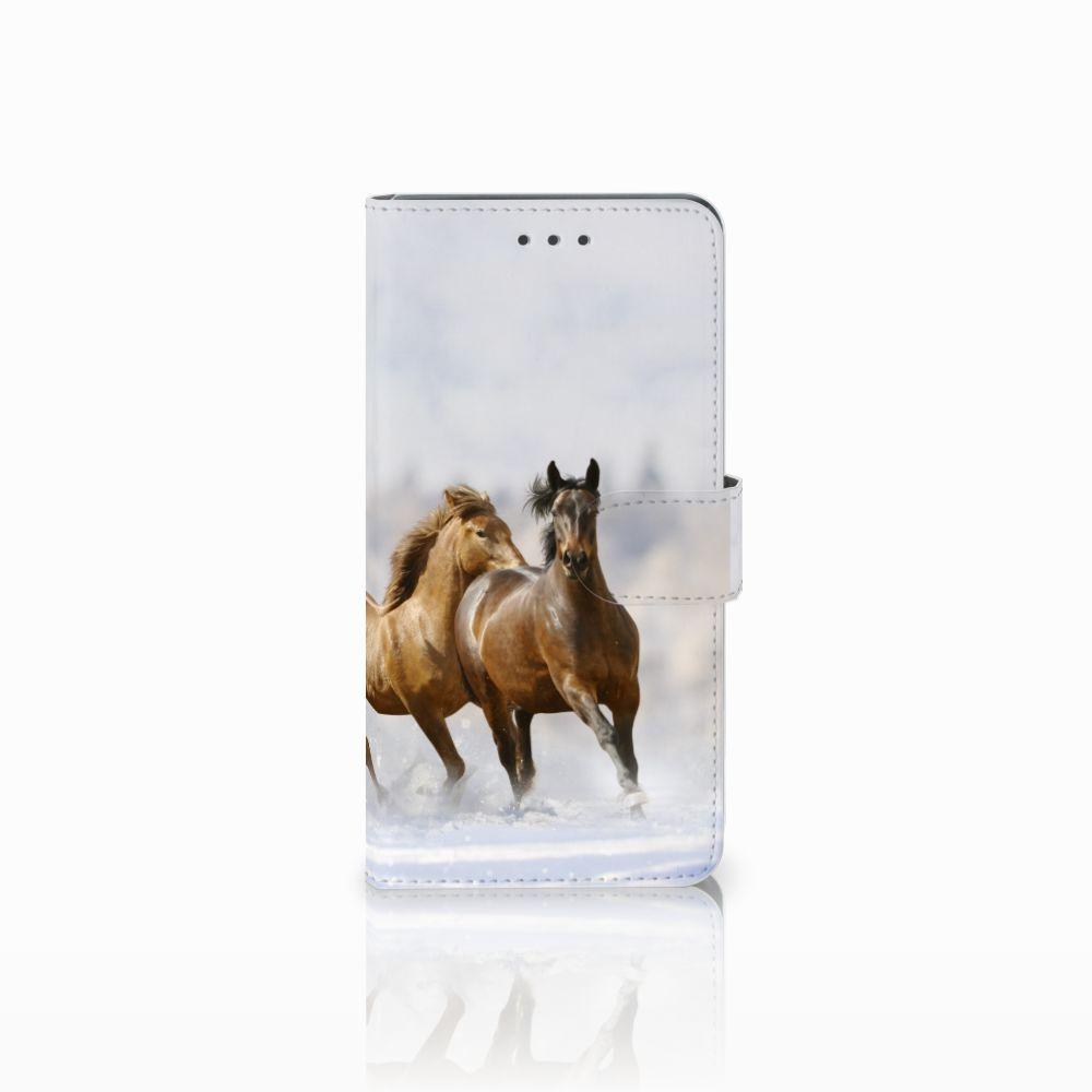 Huawei Mate 8 Uniek Boekhoesje Paarden