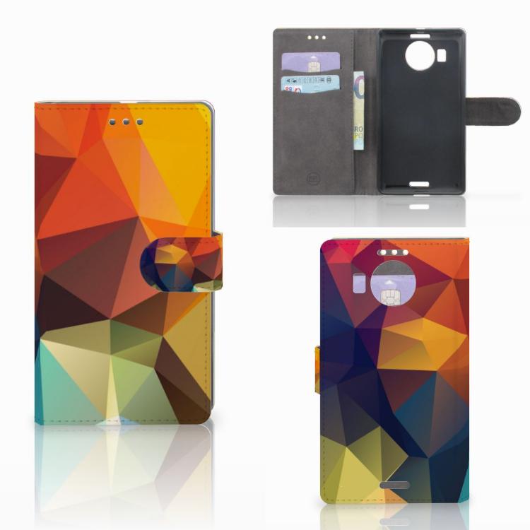 Microsoft Lumia 950 XL Bookcase Polygon Color