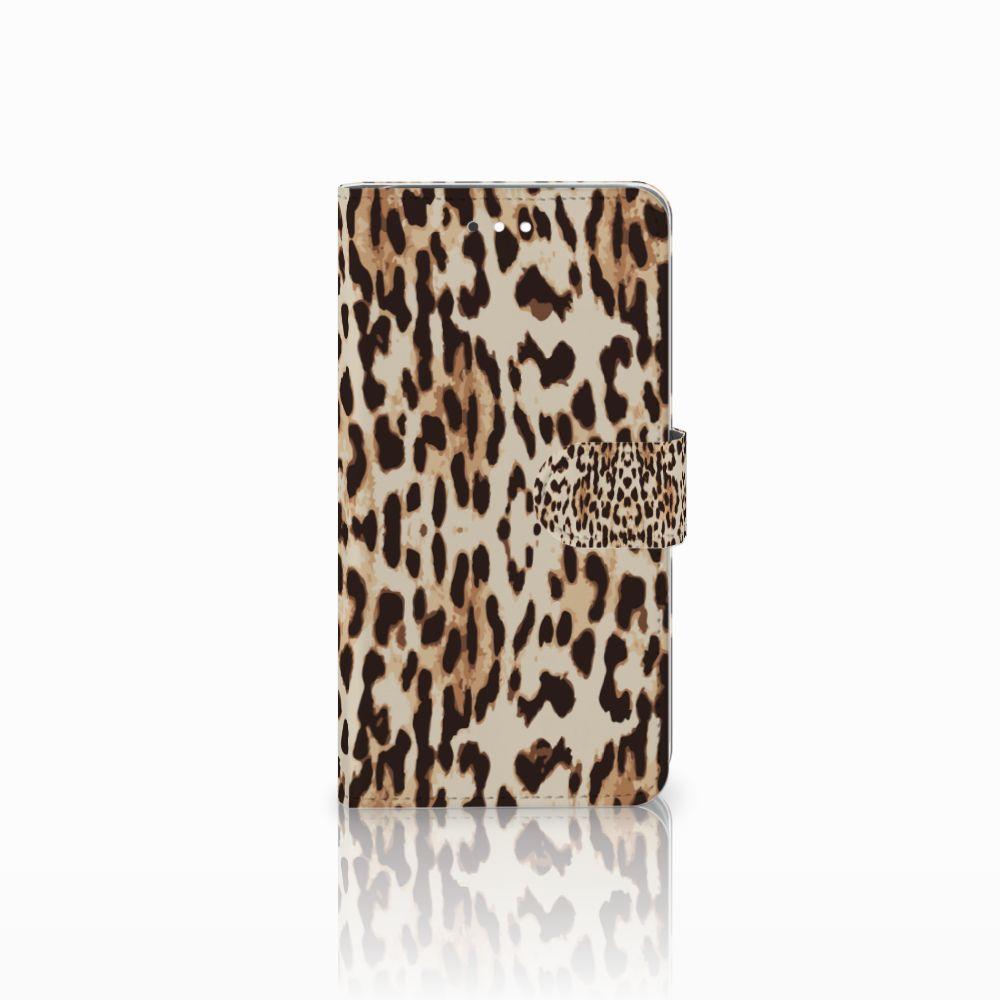 Huawei Ascend G7 Uniek Boekhoesje Leopard