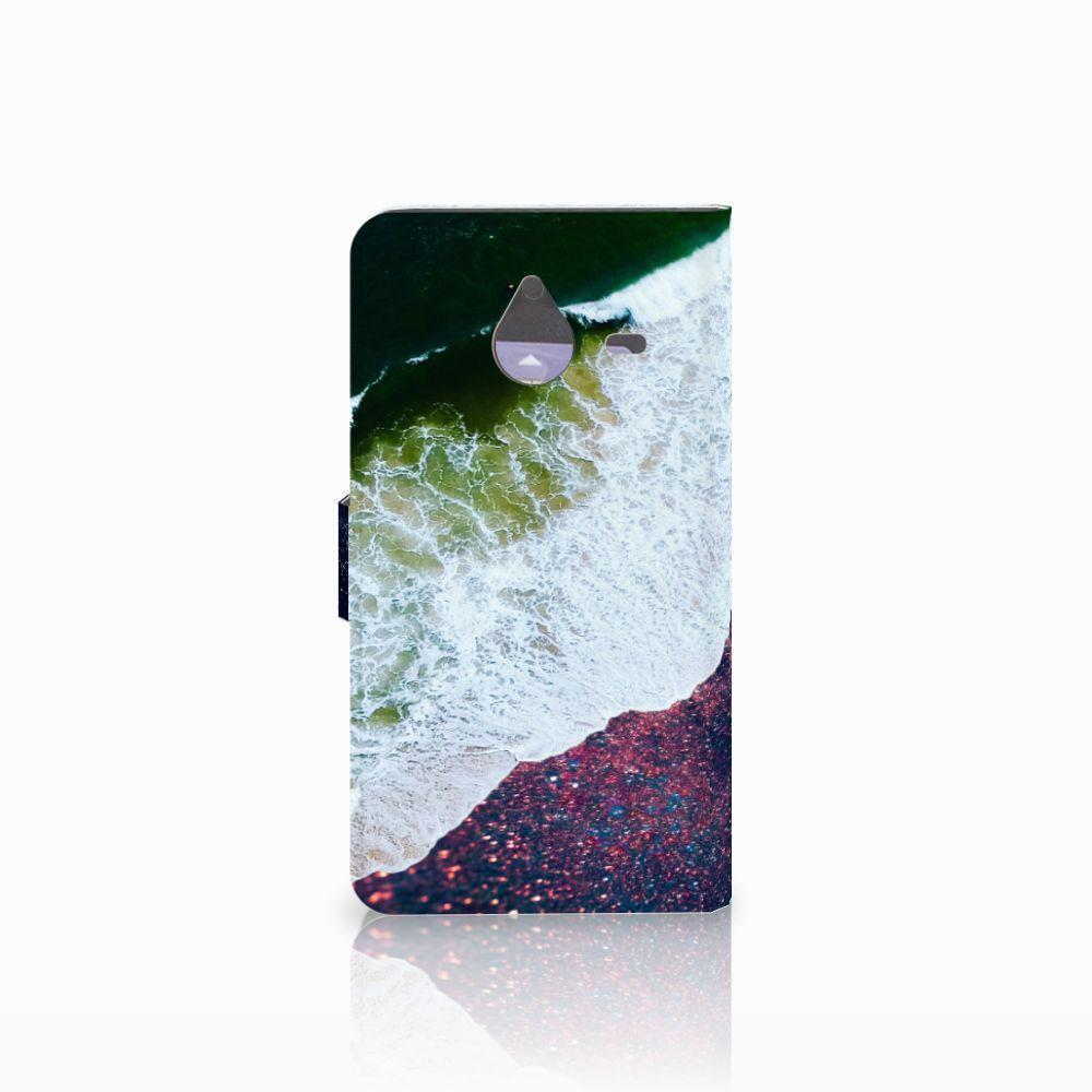 Microsoft Lumia 640 XL Bookcase Sea in Space