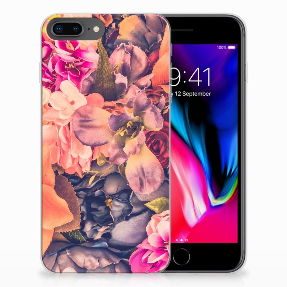 Apple iPhone 7 Plus | 8 Plus TPU Case Bosje Bloemen