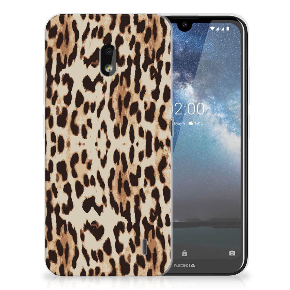 Nokia 2.2 TPU Hoesje Leopard