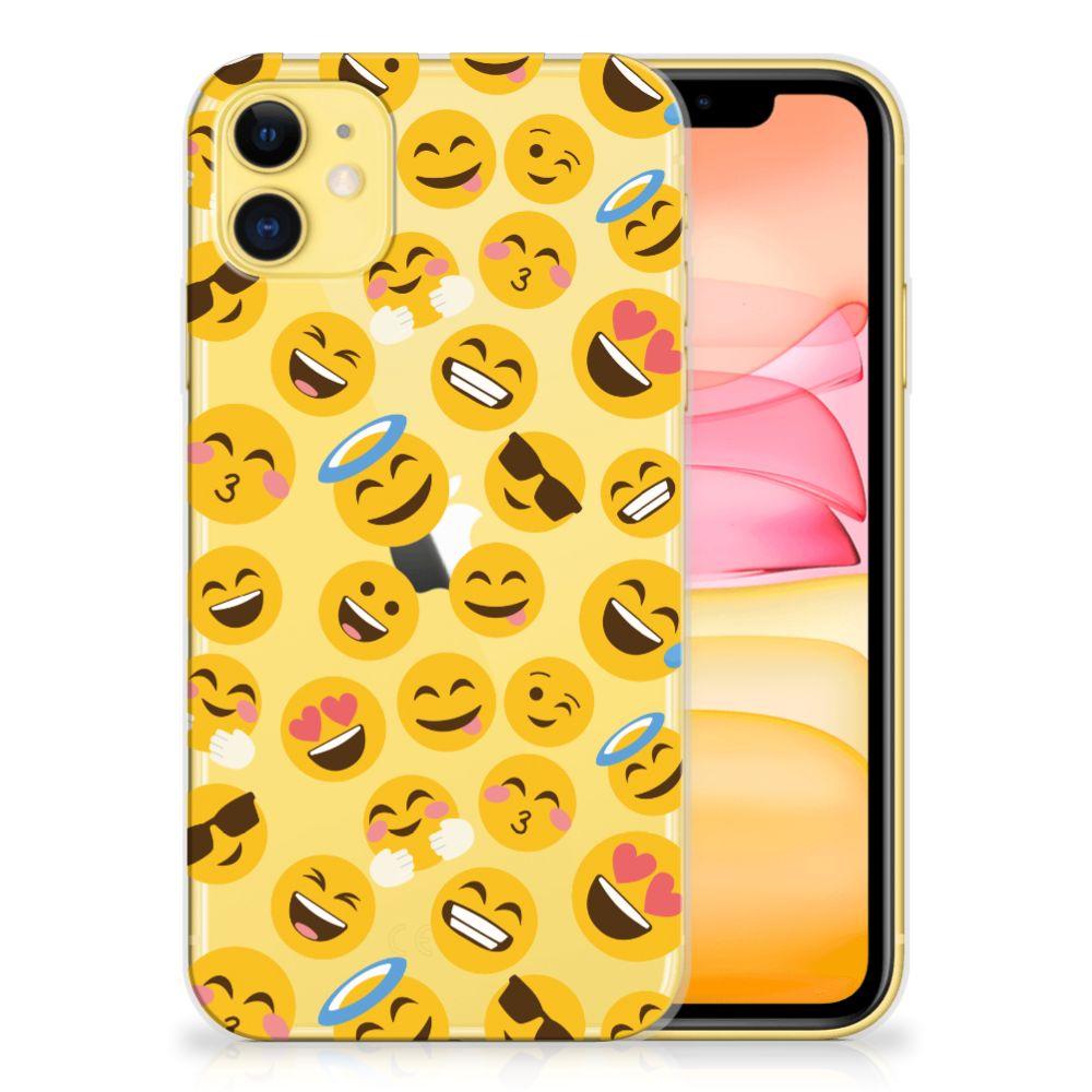 Apple iPhone 11 TPU bumper Emoji