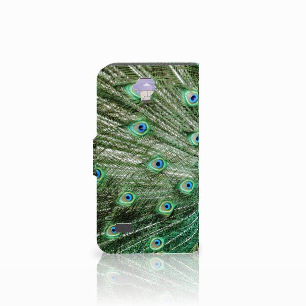 Huawei Y5 Y560 Telefoonhoesje met Pasjes Pauw