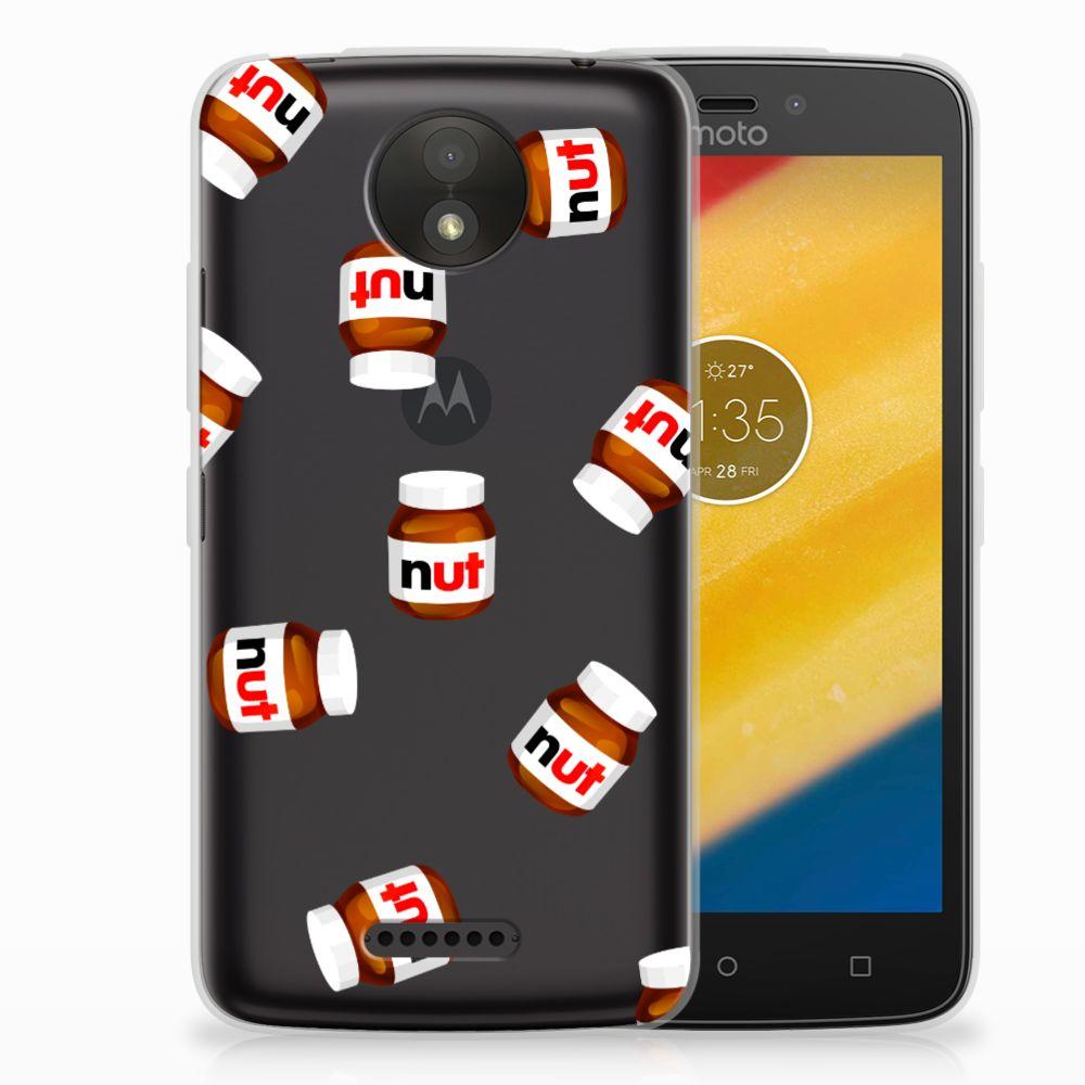 Motorola Moto C Plus Siliconen Case Nut Jar
