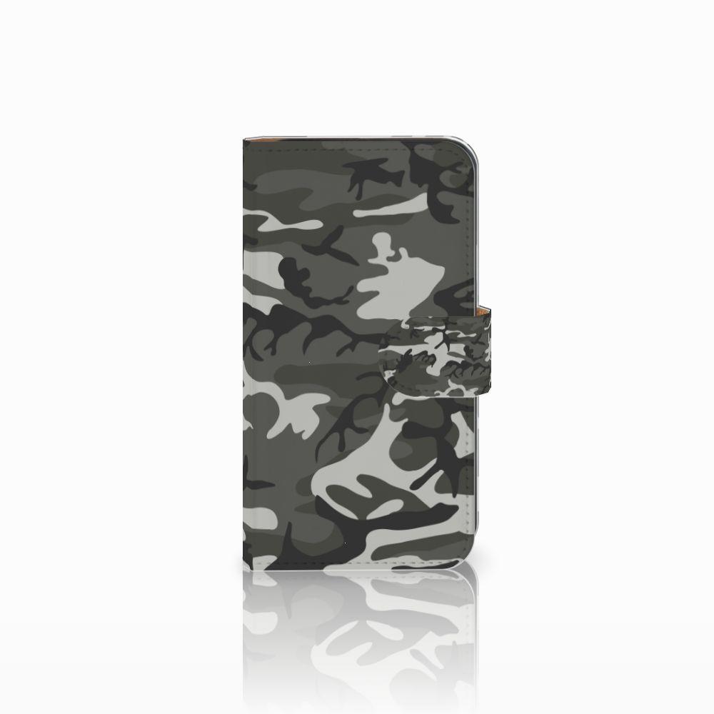 Galaxy S5 Mini Uniek Boekhoesje Army Light
