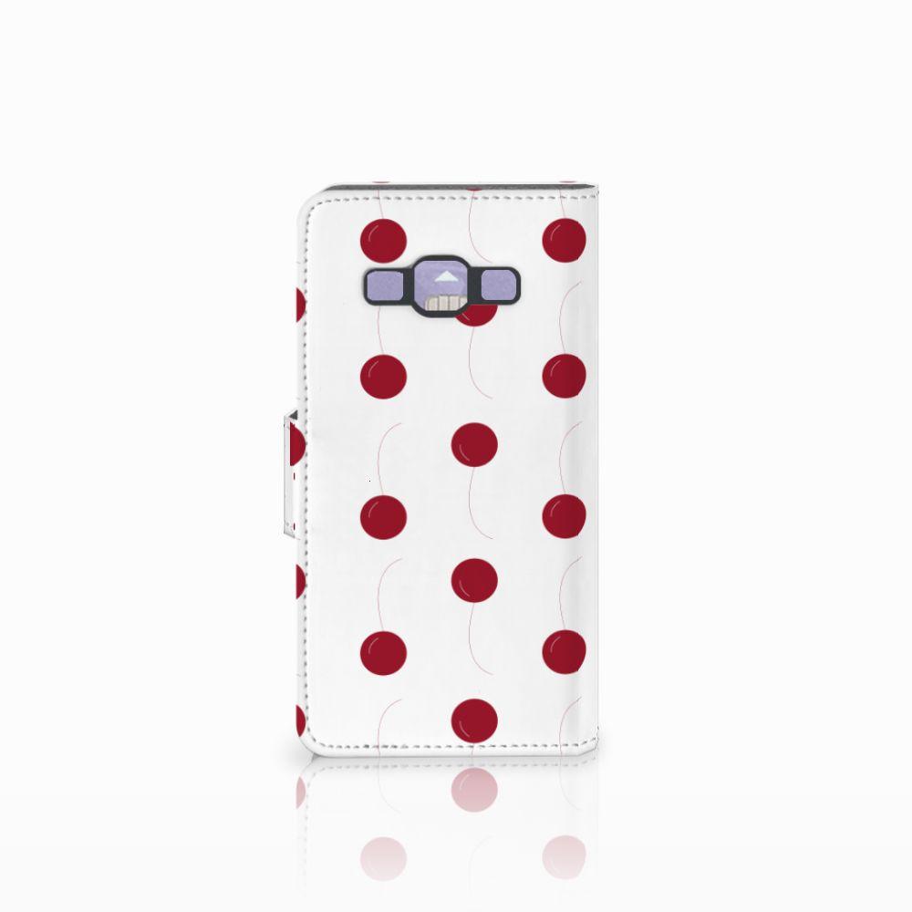 Samsung Galaxy A3 2015 Book Cover Cherries