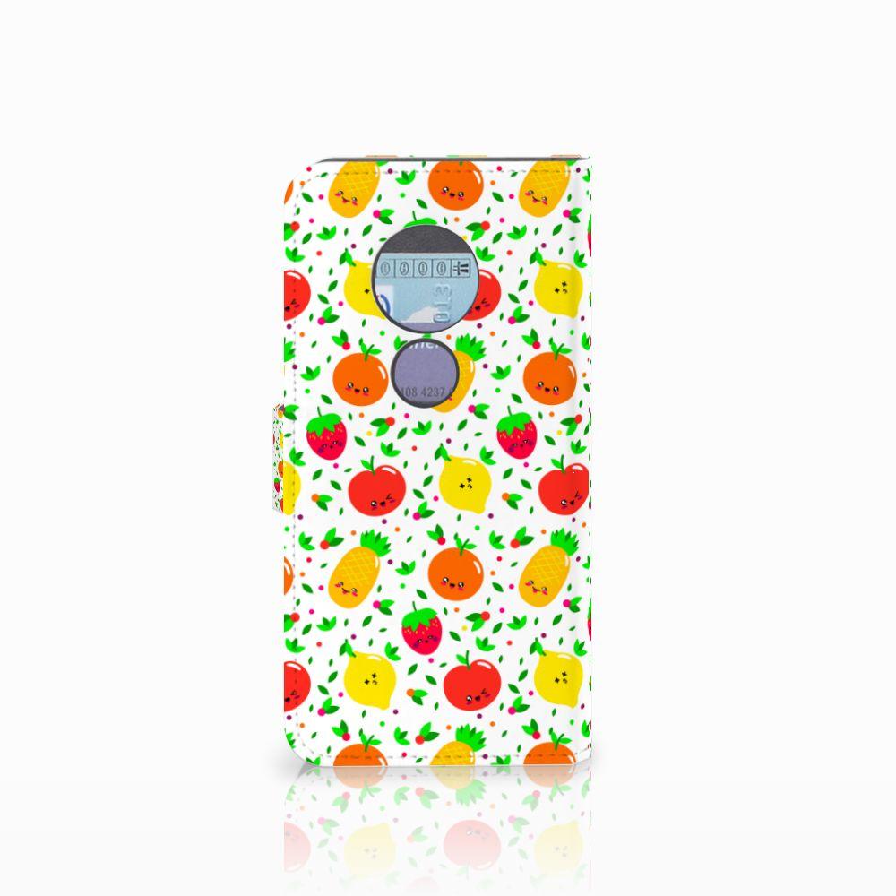 Motorola Moto G6 Play Book Cover Fruits