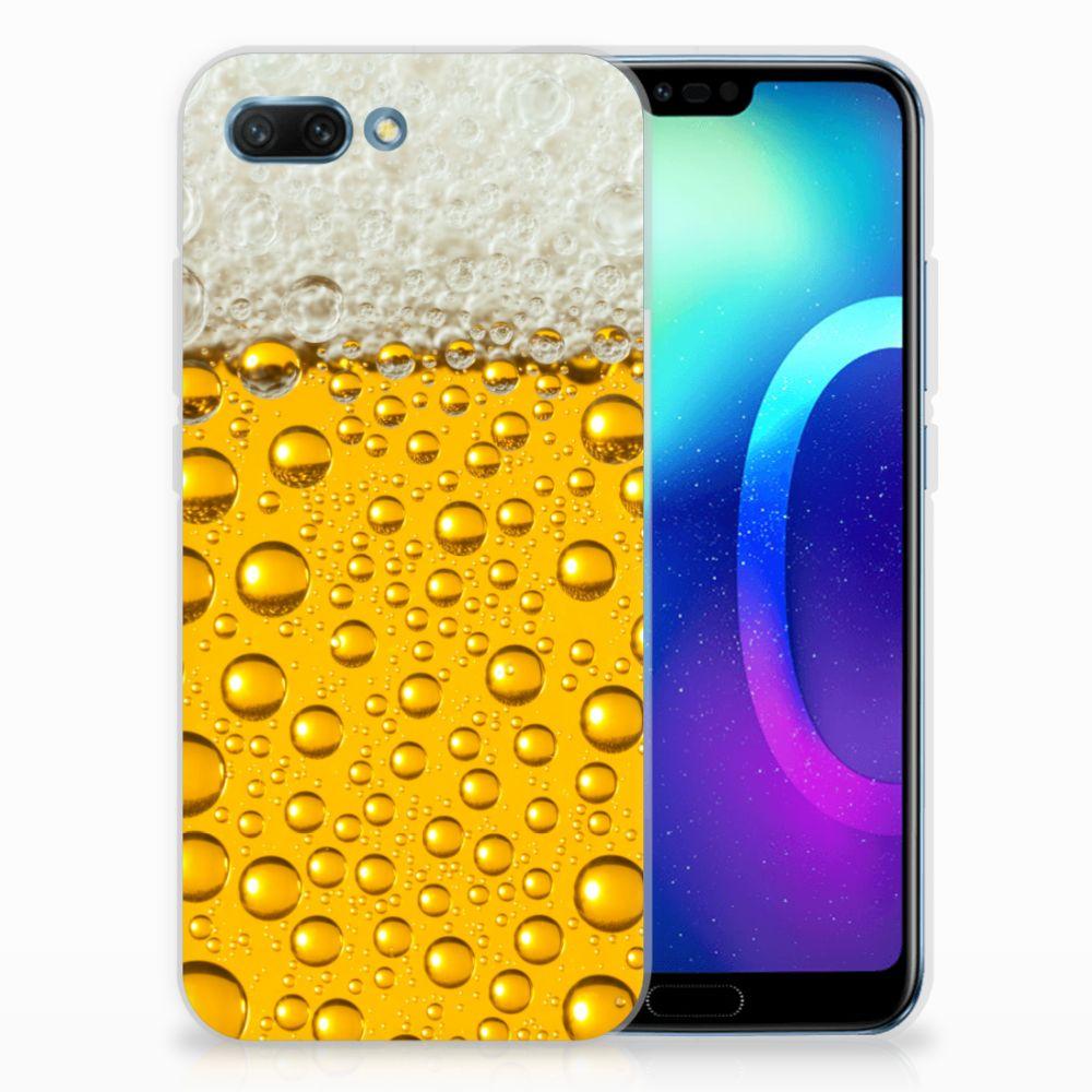 Huawei Honor 10 Siliconen Case Bier