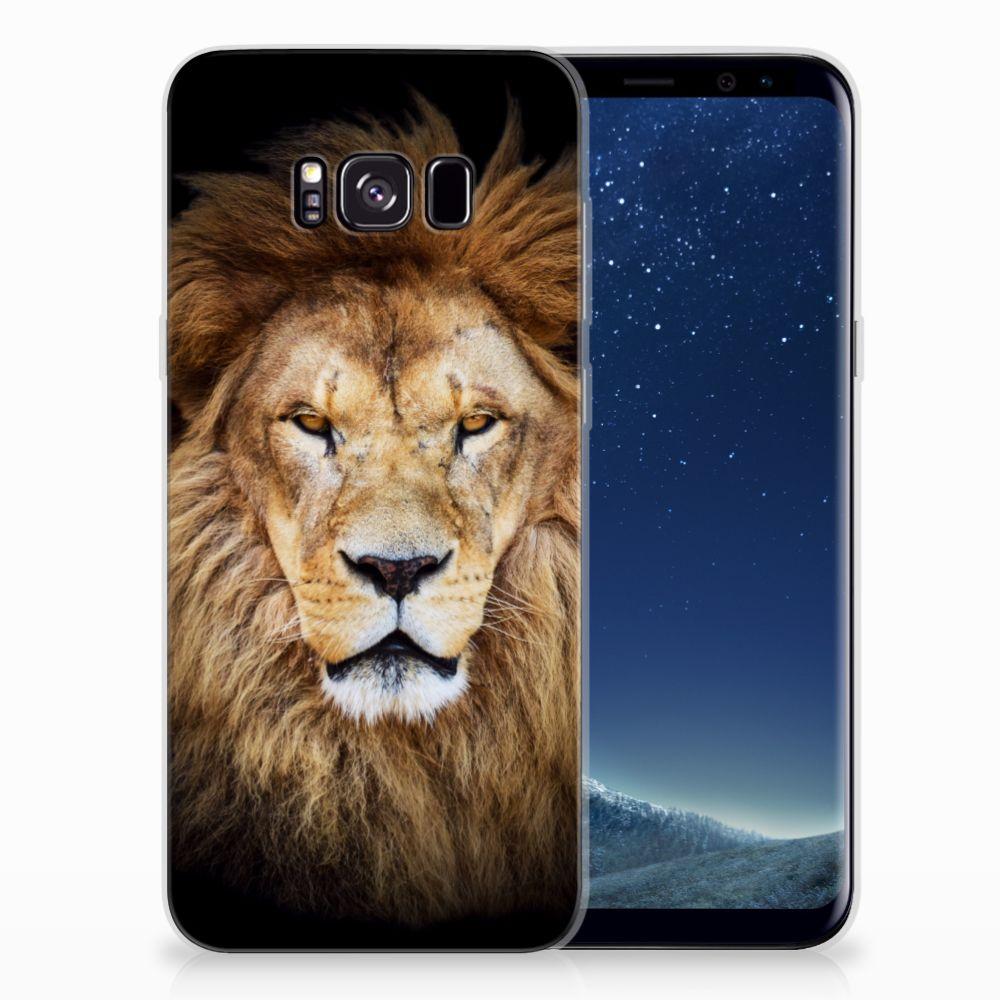 Samsung Galaxy S8 Plus TPU Hoesje Leeuw
