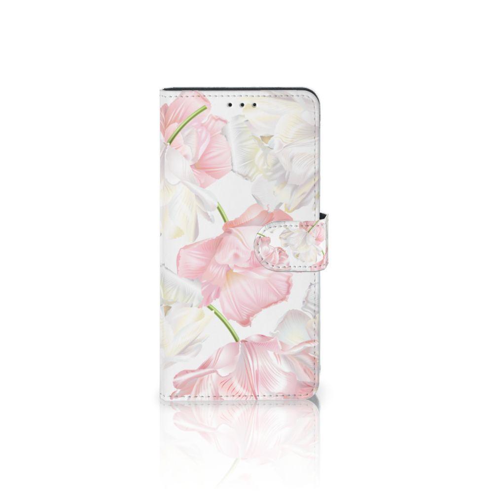 Samsung Galaxy A7 (2018) Boekhoesje Design Lovely Flowers