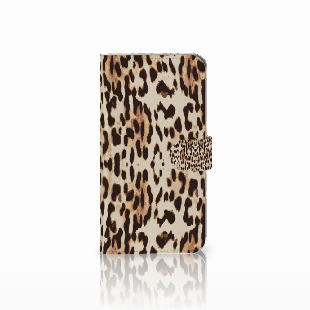 Huawei Mate 9 Uniek Boekhoesje Leopard