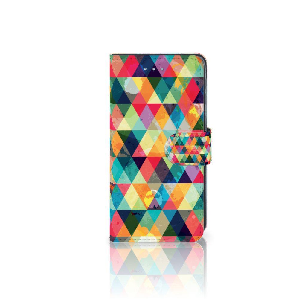 Samsung Galaxy J3 2016 Uniek Boekhoesje Geruit