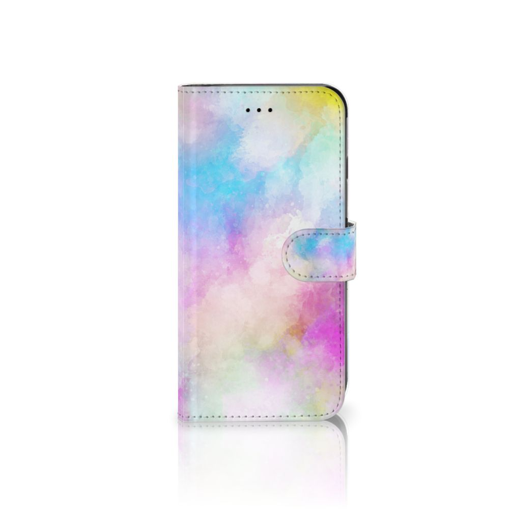 Apple iPhone 6 Plus | 6s Plus Uniek Boekhoesje Watercolor Light