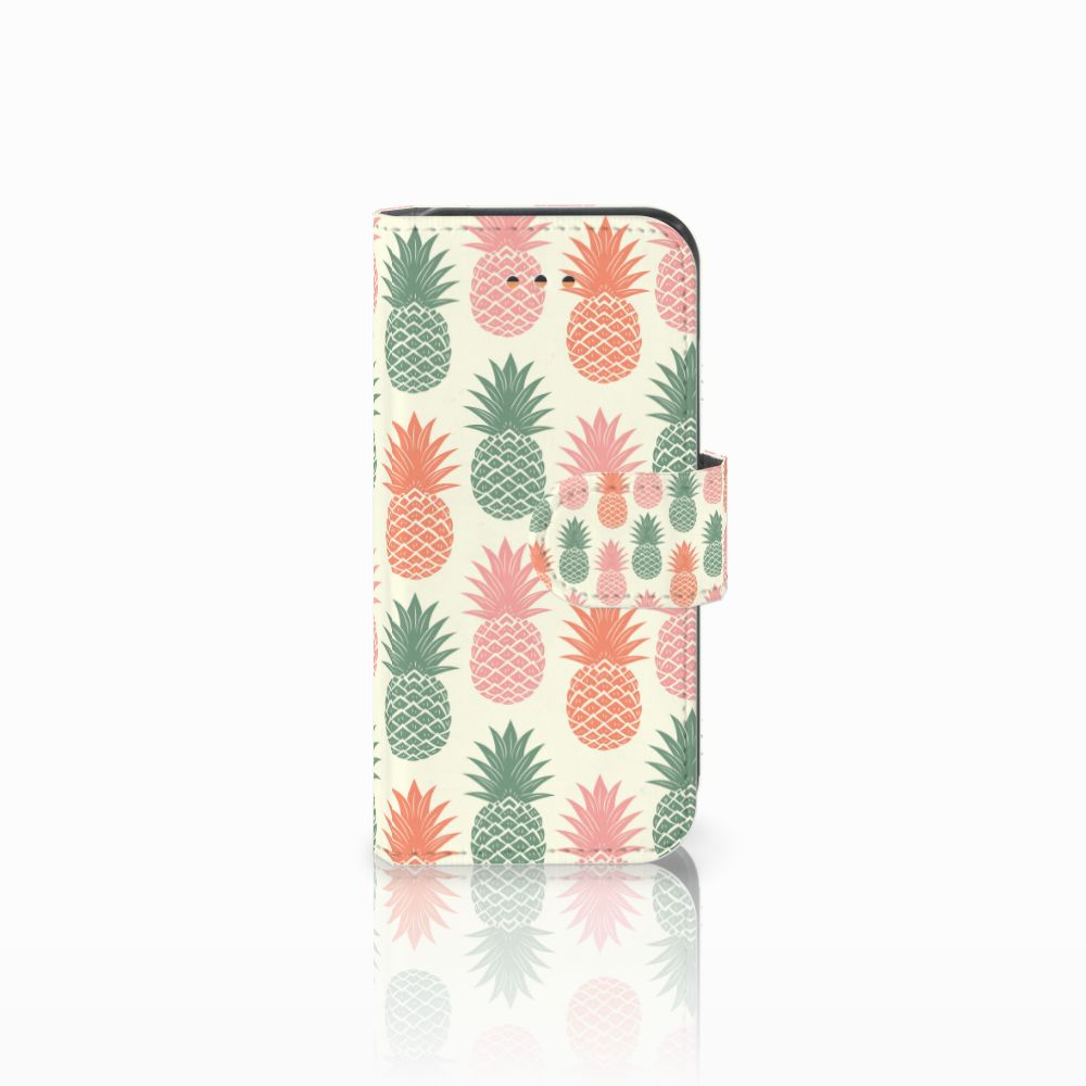 Apple iPhone 5C Boekhoesje Design Ananas