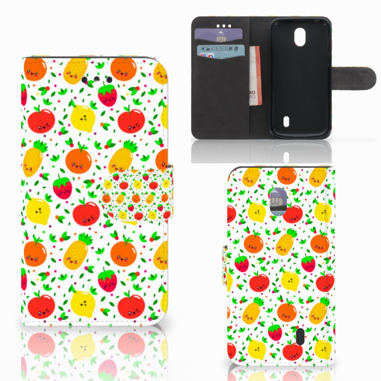 Nokia 1 Book Cover Fruits