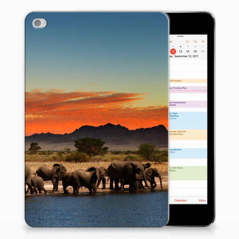 Apple iPad Mini 4 | Mini 5 (2019) Back Case Olifanten
