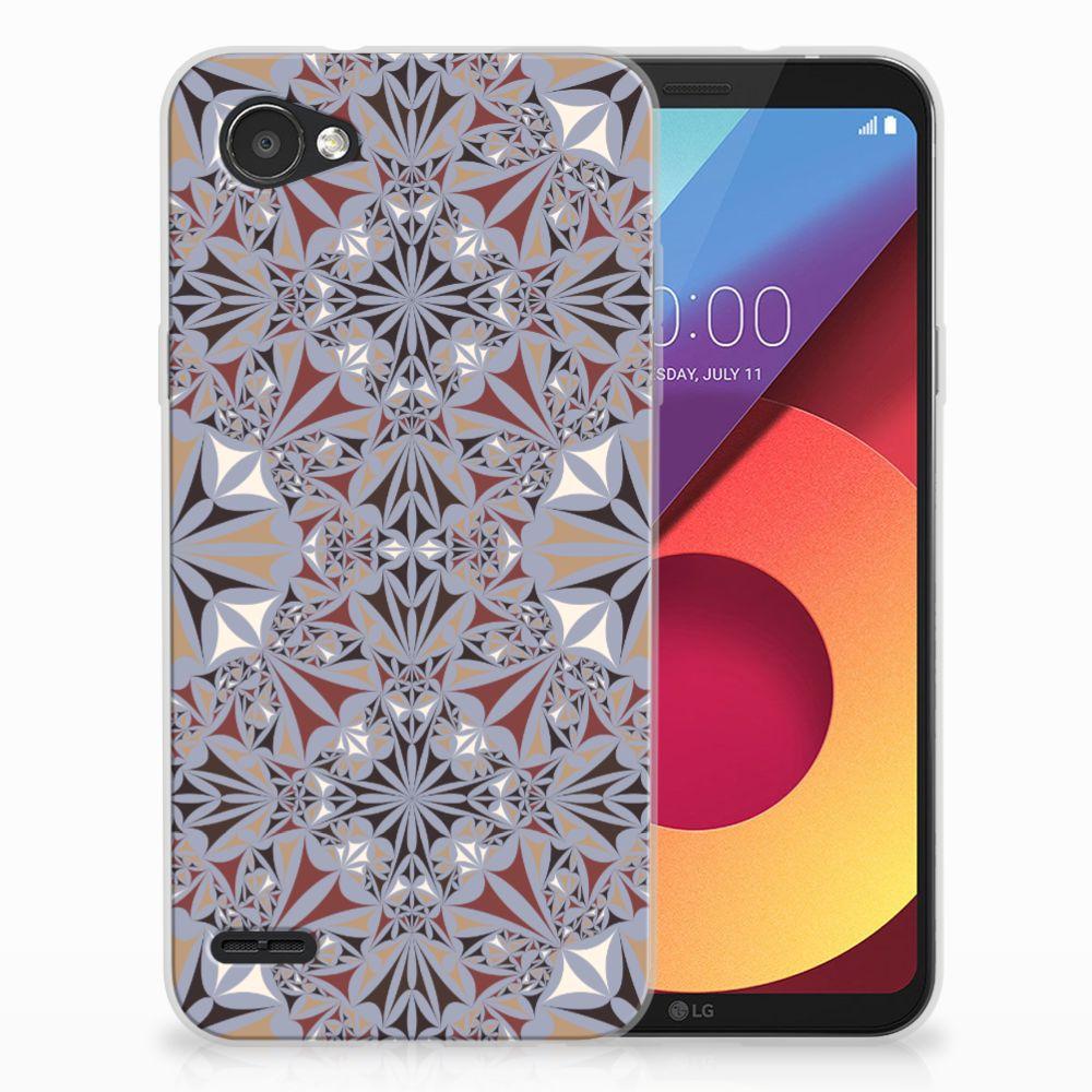 LG Q6 | LG Q6 Plus TPU Hoesje Design Flower Tiles
