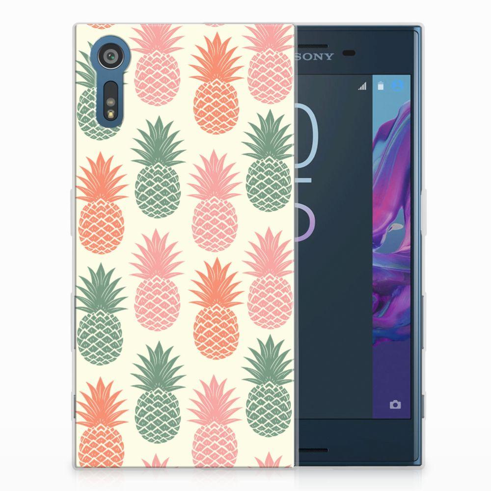 Sony Xperia XZs | XZ TPU Hoesje Design Ananas
