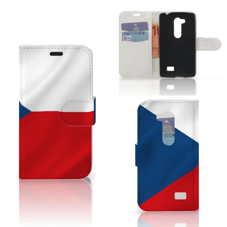 LG L Fino Bookstyle Case Tsjechië