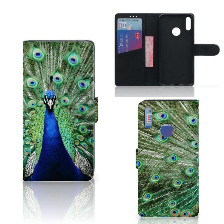 Huawei Y7 Pro | Y7 Prime (2019) Telefoonhoesje met Pasjes Pauw