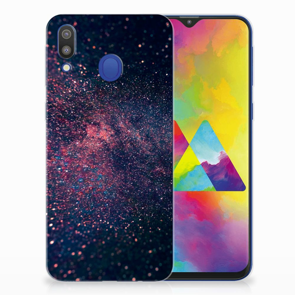 Samsung Galaxy M20 (Power) TPU Hoesje Stars