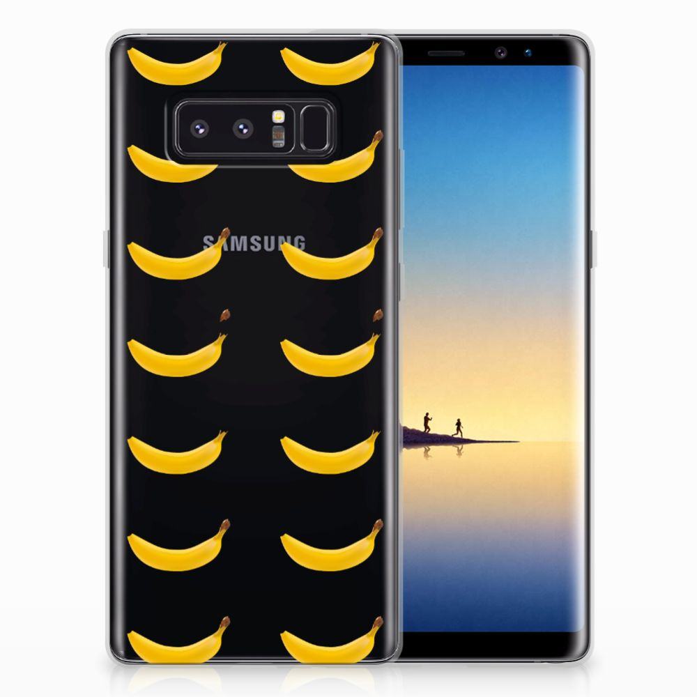 Samsung Galaxy Note 8 Siliconen Case Banana