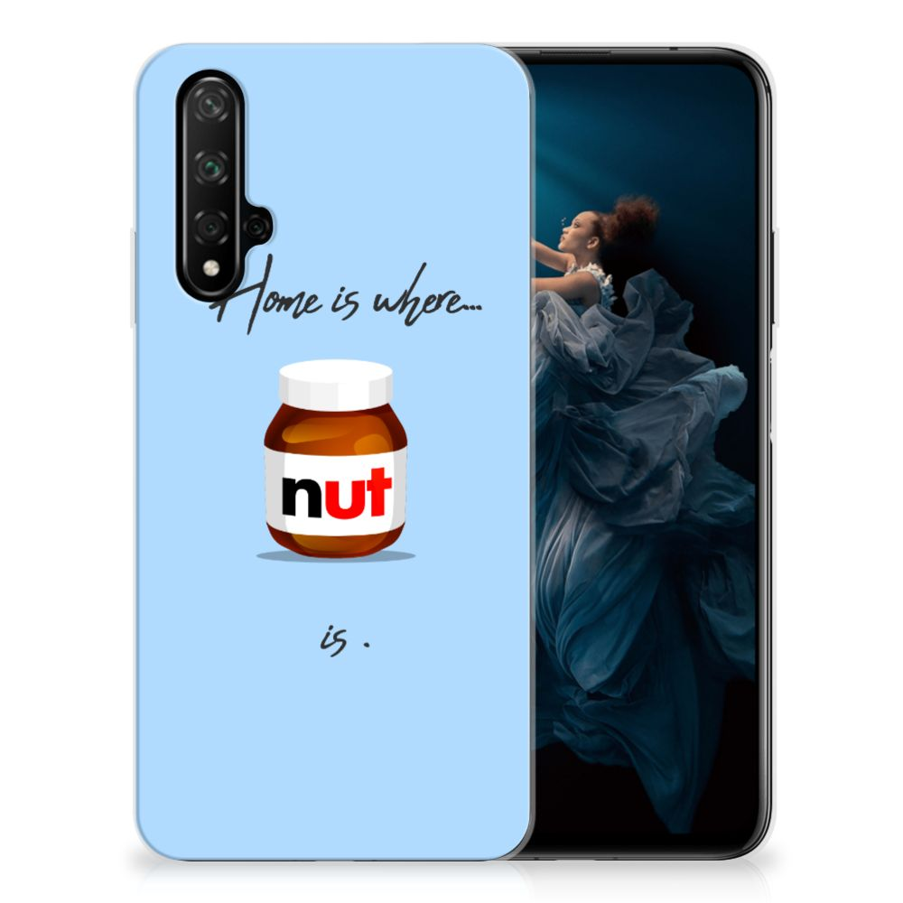 Honor 20 Siliconen Case Nut Home